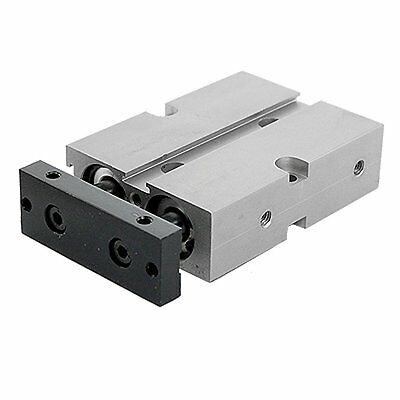 Dual Action 16mm Bore 20mm Stroke Double Rod Pneumatic Air Cylinder