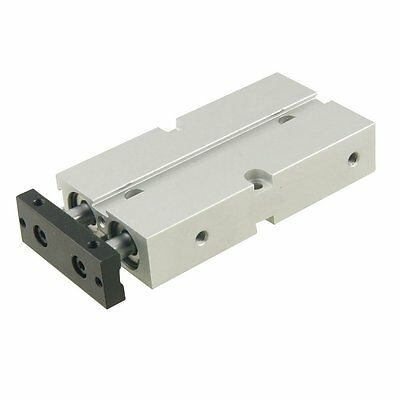Dual Action 16mm Bore 50mm Stroke Double Rod Pneumatic Air Cylinder