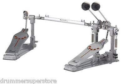 Pearl 932 Demonator Chain Drive Double Bass Drum Pedal w/ Frictionless Roller