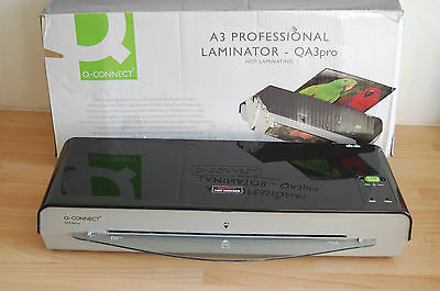 Q-Connect A3 Professional Laminator KF17006 + FREE POUCHES TO GET YOU STARTED