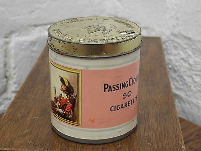 W.d & Ho. Wills Vintage Cigarette Tin Passing Clouds Contains 50 Still Sealed