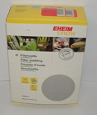 EHEIM 2504101 EHFISYNTH 2 litre. Fin Filtre Ouate