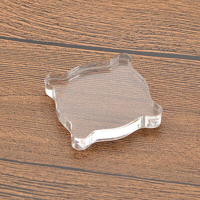 1 Pc Papermania Clear Acrylic Stamp Blocks With Gridlines For Mounting Stamps