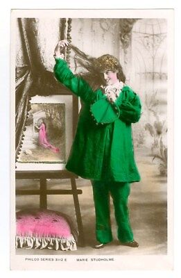 Stage Actress Marie Studholme Tinted Photo Postcard Free Shipping