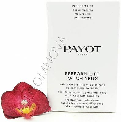 Payot Perform Lift Patch Yeux Soin Express Liftant Défatigant 20 psc