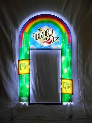 Slot Machine  Wizard Of Oz Emerald City Led Sign Topper