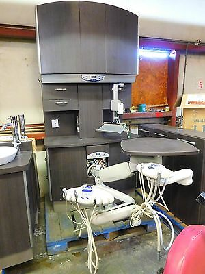 Pelton and Crane Executive Dental Unit w/ Delivery Units FWS30