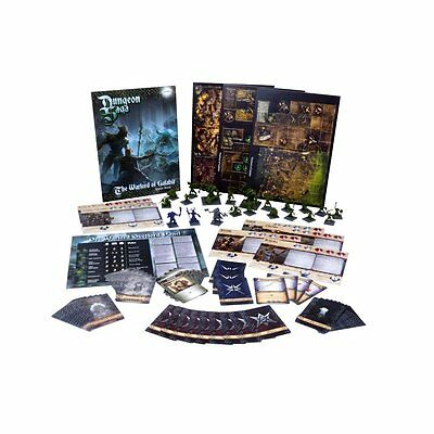 DUNGEON SAGA - WARLORD OF VALAHIR Expansion Board Game (ENGL) OVP Mantic Quest