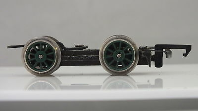 X725  Hornby Triang Front Bogie Complete Scotsman Green Wheels   N9B