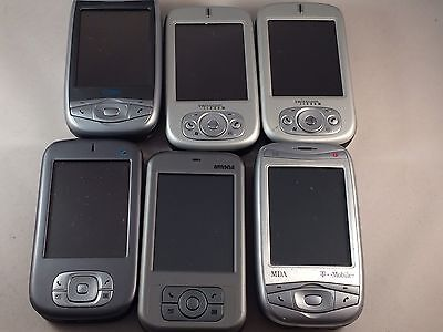 Joblot - 6x Various Faulty HTC branded Mobile Phone Untested