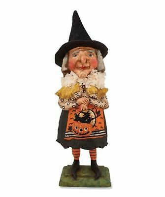 Bethany Lowe | OLD WITCH W/ JACK O LANTERN *BRAND NEW* Halloween HH4872 RARE