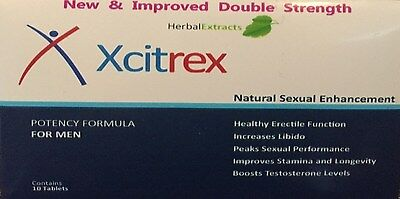 10 x Blue Male Enhancement Erection Tablets GUARANTEED TO STAY ROCK HARD!