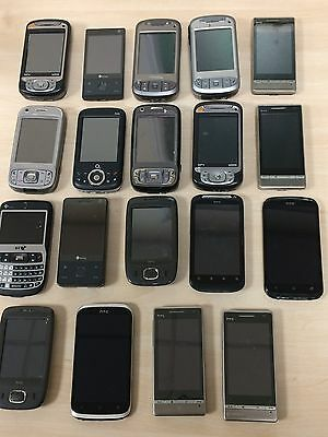 Joblot - 19 X Various condition Faulty HTC Mobile Phone Handsets