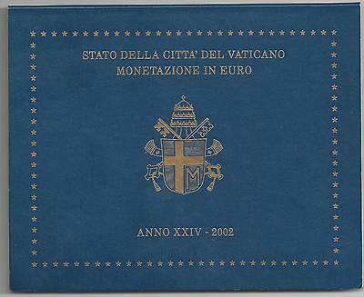 original Euro coin set 2002 from Vatican in st