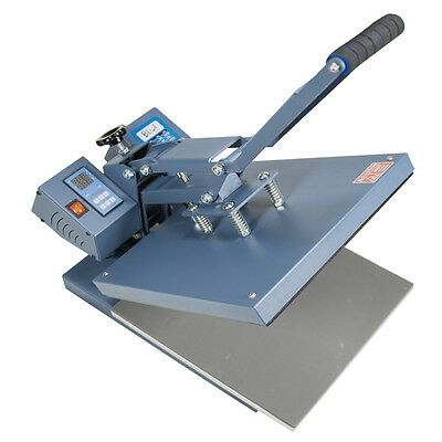 "New 15"" X 15"" Clamshell Heat Press Machine, Sublimation / Heat Transfer TShirts"