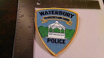 Waterbury Vermont Police Patch Patches