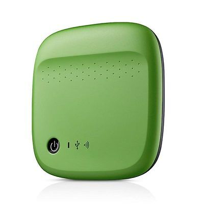 Seagate 500GB Wireless Mobile Storage External Portable Hard Disk Drive Green