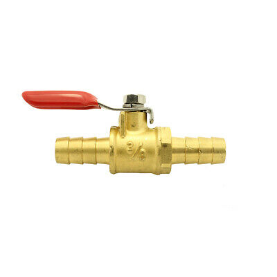 "3/8"" Brass Two Way Fuel Cut Off Switch Valve"