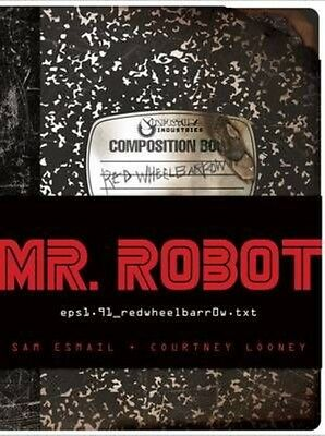 Mr. Robot Original Tie-In Book: Featuring 7 Removable Items by Sam Esmail Hardco