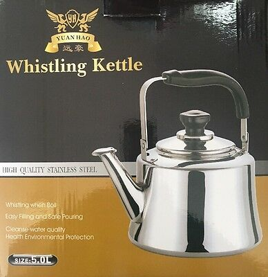 Whistling Kettle High Quality Stainless Steel 5L Suit All Kind Stoves
