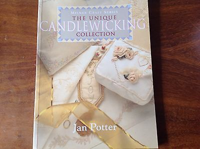 """1863512691   BOOK  """"THE UNIQUE CANDLEWICKING COLLECTION"""" by JAN POTTER"""