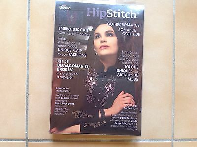 "EMBROIDERY KIT """"HIP STITCH GOTHIC ROMANCE "" by BUCILLA"