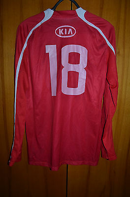 Spartak Moscow Russia 2010/2011 Match Worn Football Shirt Jersey Maglia Nike #18