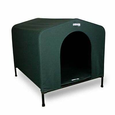 Hound House Original Canvas Dog Kennel in Green - All Sizes Available