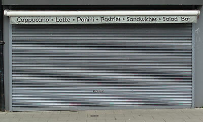 Security Electric Roller Shutter Door Shop Front Commercial - Sizes Available!