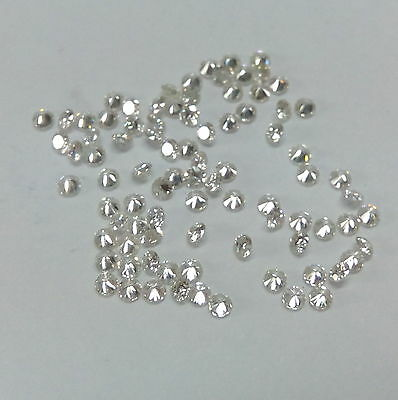 0.80mm to 3mm Natural White Diamond IJ Colour VS Clarity Round Loose Diamond
