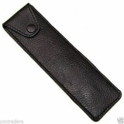 Parker Leather Protective/Travel Case for Straight,Cut-Throat and Barber Razors