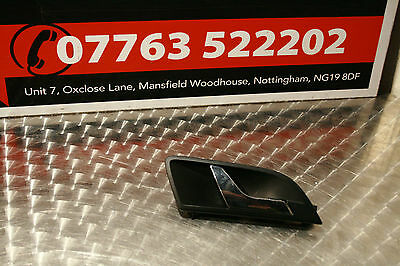 2009 Skoda Superb O/s/r Driver Side Rear Door Handle 3T0839248