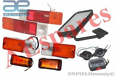 Suzuki Sj Complete Light Set+Rh Rear View Mirror Samurai Sierra Drover Jimny @uk