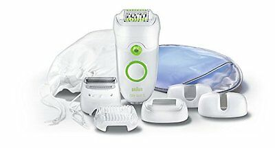 Braun Silk Epil 5 Se5780 Epilator W/ Comfort System & Five Attachments Fully Was