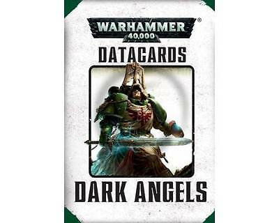 Data Cards :  Dark Angels  - Warhammer 40,000 40K - Games Workshop