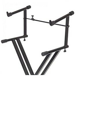 Kinsman Universal Keyboard Stand Extension Black Musical Sturdy New UK SELLER