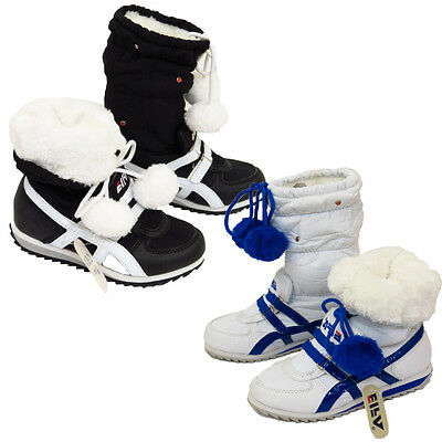 14 Pairs JOB LOT Ladies Winter Boots Girls Boys Warm Trainers Shoes UK10 To UK8