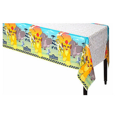 Lion Guard Plastic Table Cover Boy Birthday Party Decoration Supplies Tablecloth