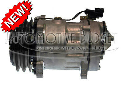 A/C Compressor w/Clutch for Sanden 4497, 4704 - NEW