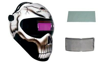 New Save Phace GEN X EFP DOA Welding Helmet Auto Darkening Fixed #10 + Free Lens