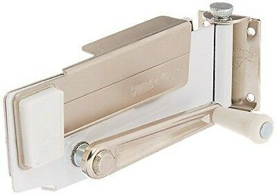 Amco Swing-A-Way Magnetic Wall Can Opener, White