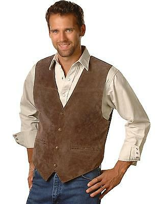 Scully Men's Suede Leather Vest - 504-67
