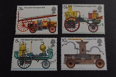 GB MNH STAMP SET 1974 Fire Prevention SG 950-953 10% OFF FOR ANY 5+