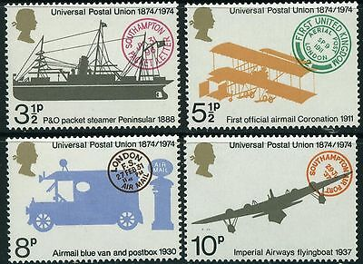 GB MNH STAMP SET 1974 UPU Universal Postal Union SG 954-957 10% OFF FOR ANY 5+