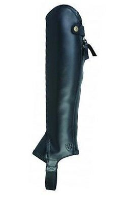 Ariat Concord Chaps Leather Riding Chaps/ Gaiters - NEW