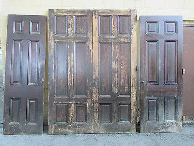 ~ Antique Double Entrance French Doors 68 X 96 + 2 More ~ Architectural Salvage
