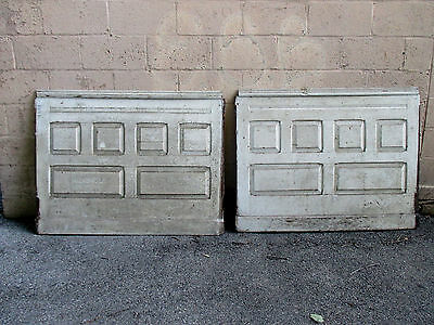 ~ 2 Pieces Antique Oak Paneling 92 Inches Total ~ Architectural Salvage ~