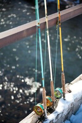 Blue Halo 5 weight Complete Fiberglass Fly Fishing Rod