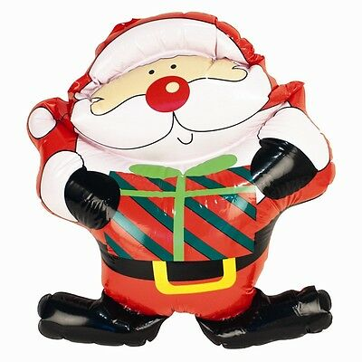 Xmas Inflatable Santa Blown Up Christmas Character Indoor/outdoor Decorations
