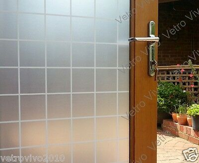 90 CM x 1 M - Square Removable Frosted Window Glass Film for privacy
